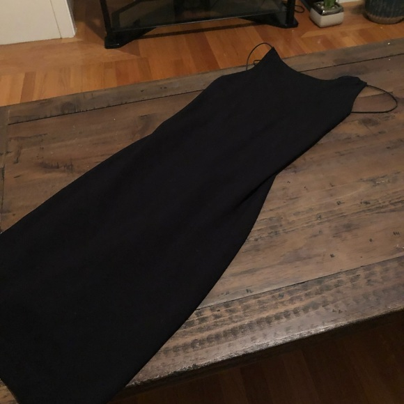 French Connection Dresses & Skirts - Black dress, backless